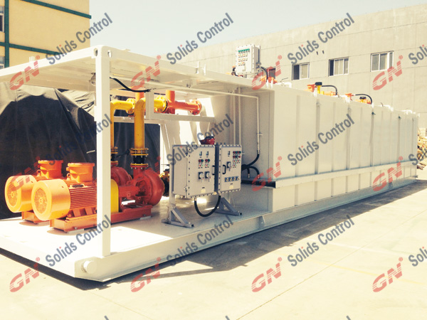 GNMS 1000HP Solids Control System Delivered to Europe 001