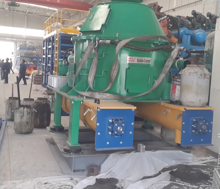 GN Cutting Dryer Factory Testing