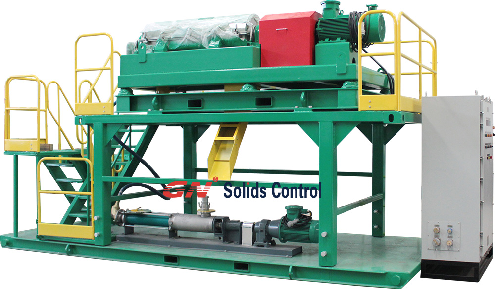 Decanter Centrifuge Telescopic Skid